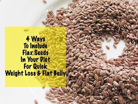 Flaxseeds are an instant fat burner. Learn the ways how you can include this in your daily diet for quick weight loss.