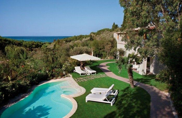 Luxus garten  luxus pool eine der besten ideen für einen luxus pool im garten ...