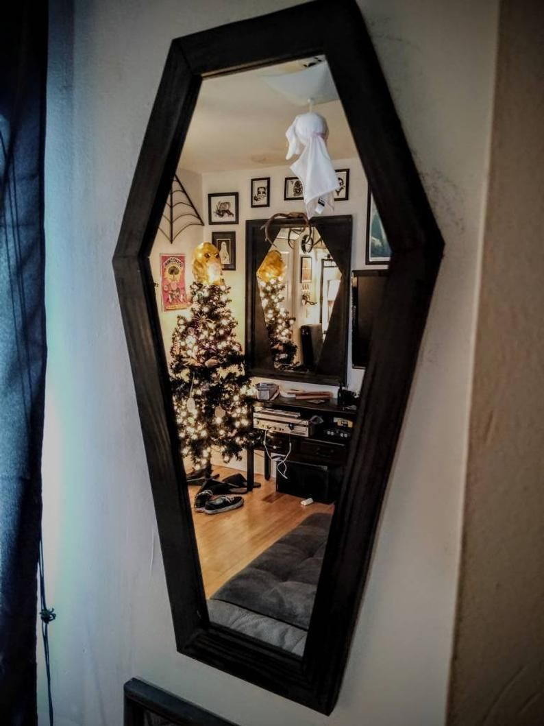 Photo of Hand Made 2ft Coffin Mirror Vanity