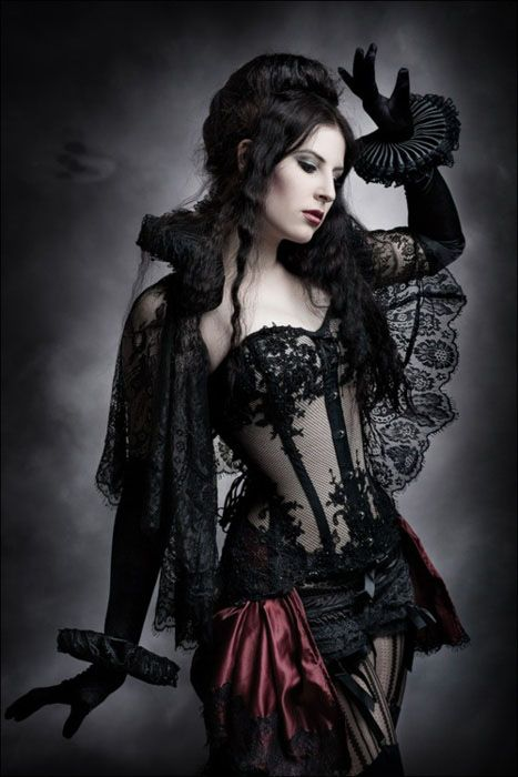 Sexy gothic costumes