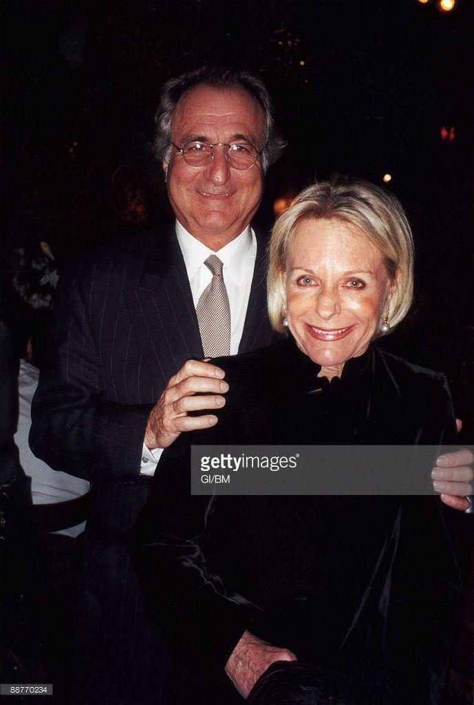 Financier Bernard Madoff and his wife Ruth Madoff attend a ...