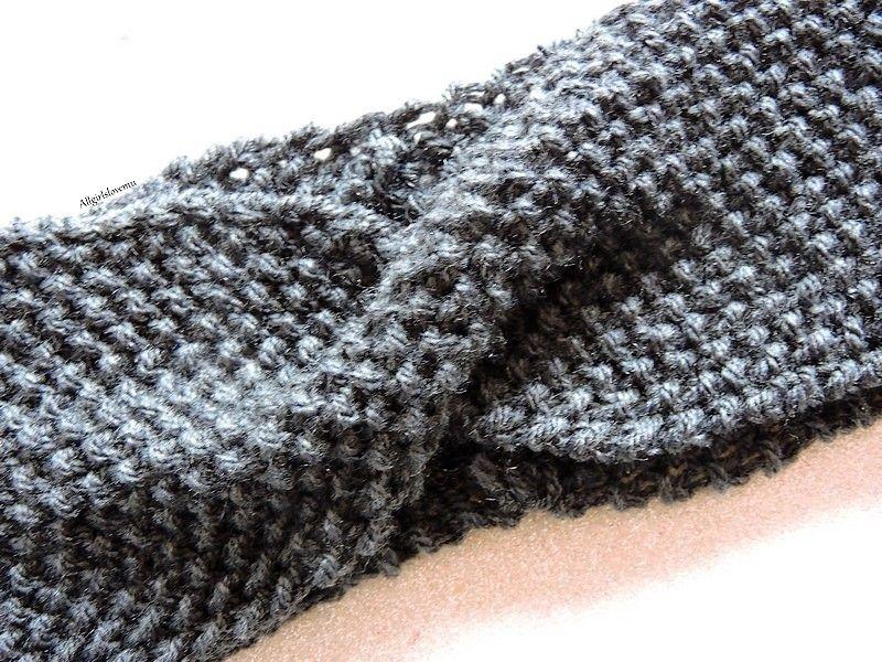 twist headband point de riz tricoti tricota pinterest point de riz twist et riz. Black Bedroom Furniture Sets. Home Design Ideas