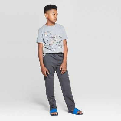 Boys' Activewear Pants - Cat & Jack™ Charcoal M in 2020 | Active wear pants,  Boy activewear, Fun pants