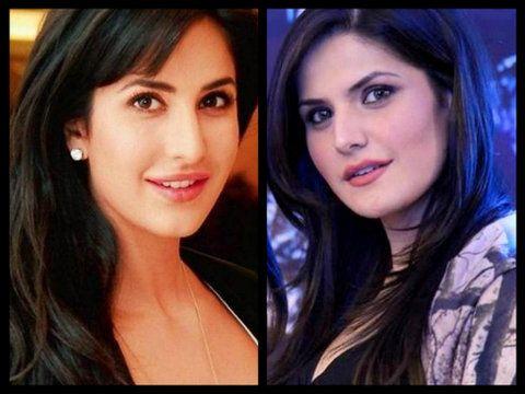 Katrina Kaif Vs Zarine Khan Zarine Khan Katrina Kaif Bollywood