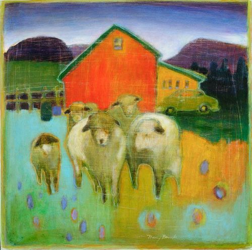 Mary Bourke is a wonderful artist. Check out more of her work at Left Bank Gallery.