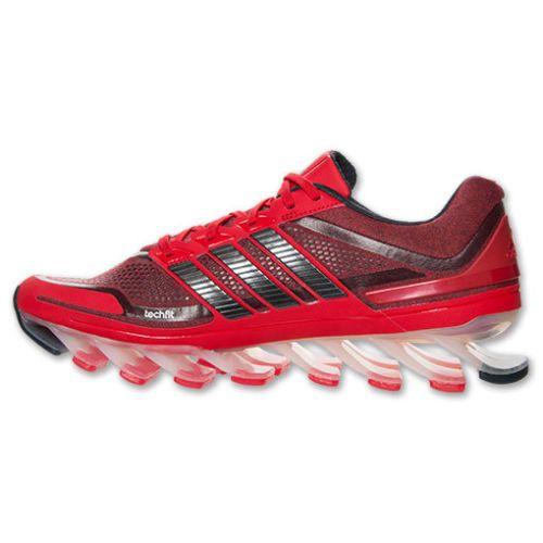 Adidas Springblade Men\u0027s Running Shoes Red/Black Lan�amento!