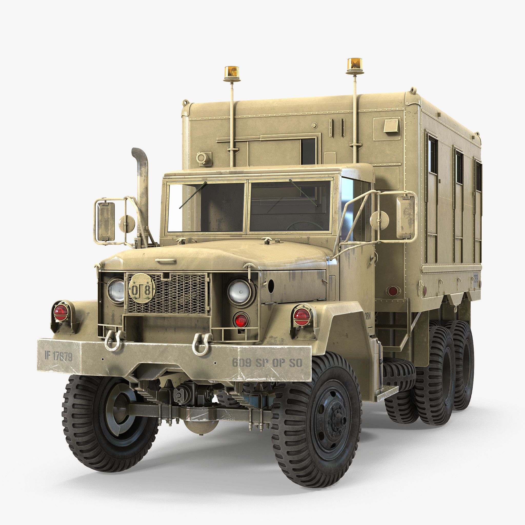 M109 Shop Van Desert 3d model Vans shop, Plastic model