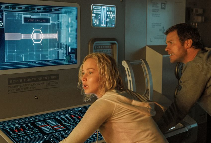 Jennifer Lawrence Passengers Movie wallpaper | SciFi Huds ...