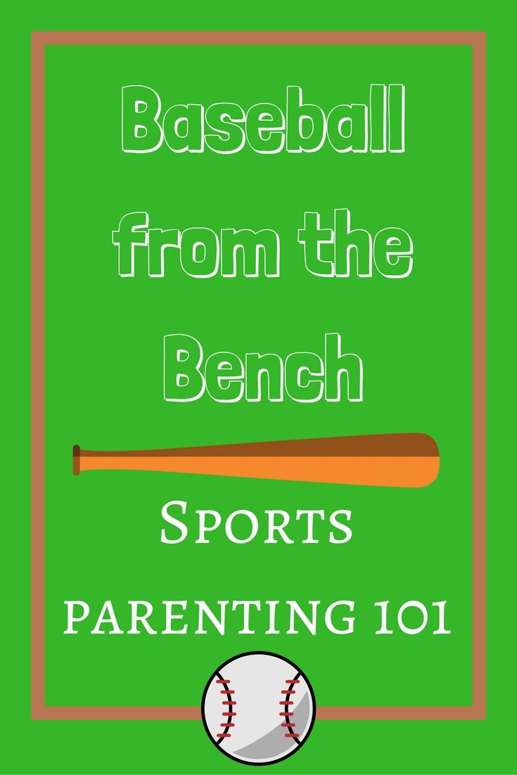 Baseball From The Bench Our First Season As Sports Parents Sports Parent Real Moms Parenting