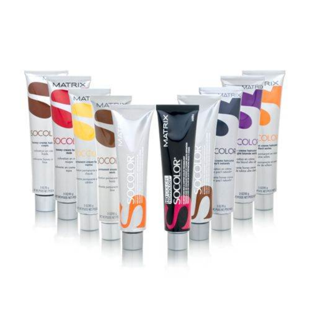 Im Learning All About Matrix Socolor Hair Color Various Colors Tube