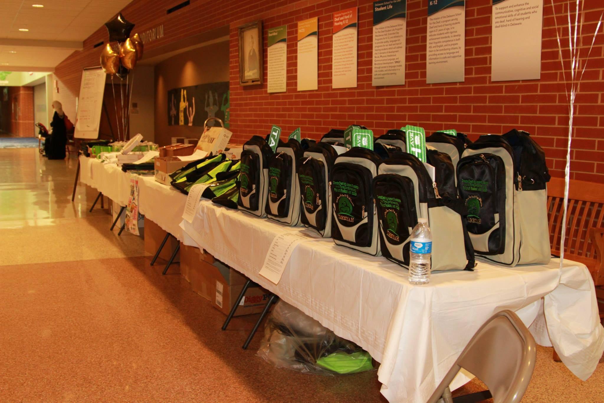 Tarbiyah School custom products on sale to raise money for school