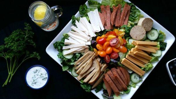 Vegan Chef's Salad