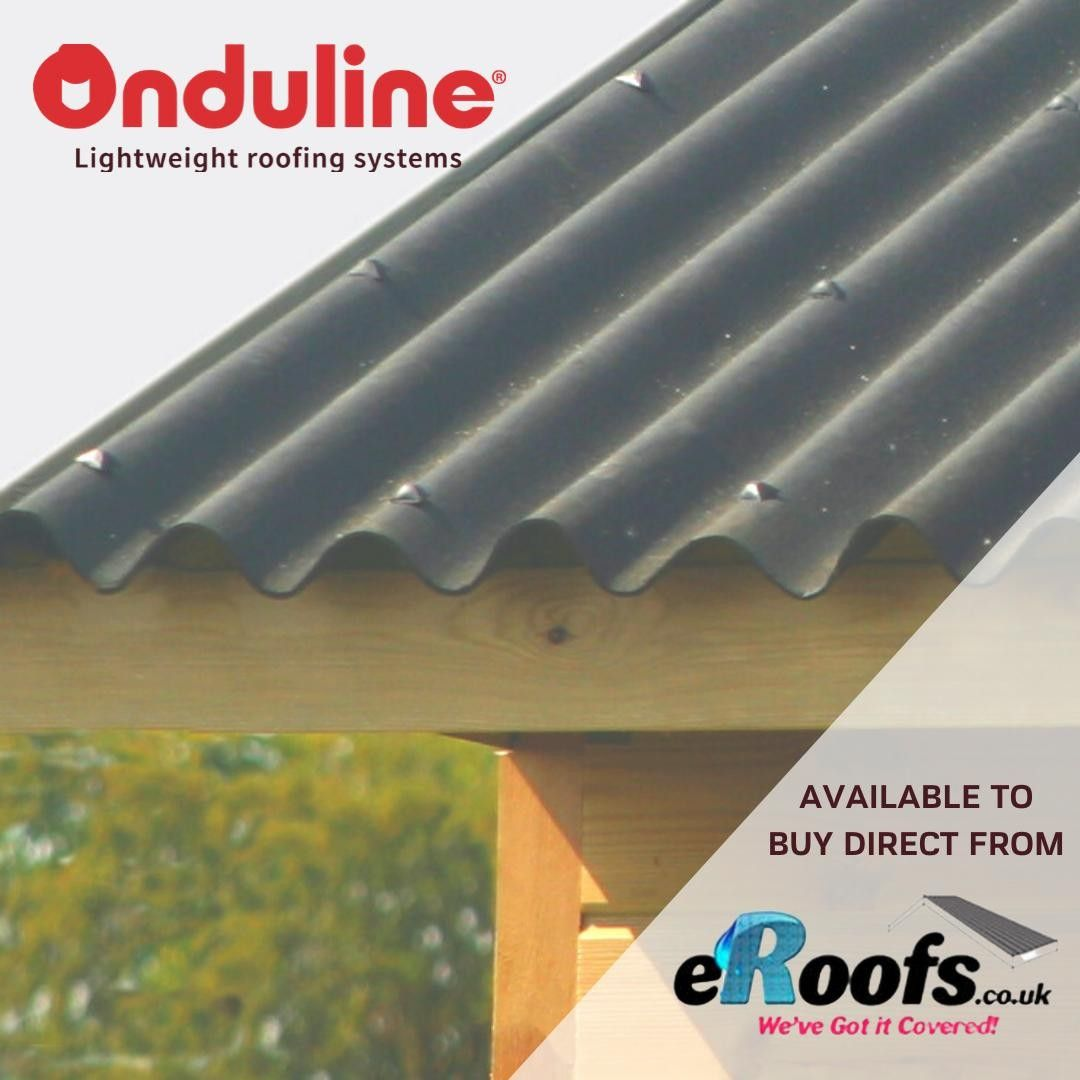 Onduline Classic Sheets Are Market Leading Bitumen Corrugated Roofing Sheets And Are Available To Buy Direct From Eroofs Co Uk Onduline Classic Lightweight Roo I 2020