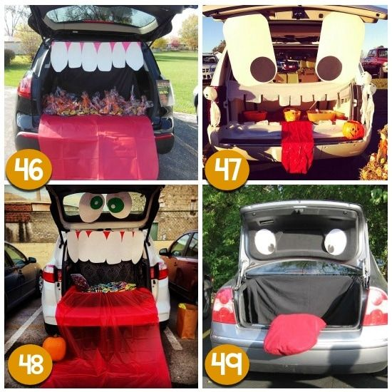 Trunk or Treat Ideas for Halloween - From Trunk or treat - how to decorate your car for halloween