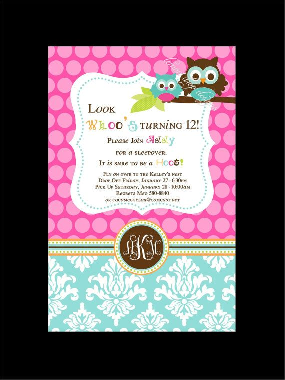 Owl birthday invitation could be for a baby shower invite for owl birthday invitation could be for a baby shower invite filmwisefo