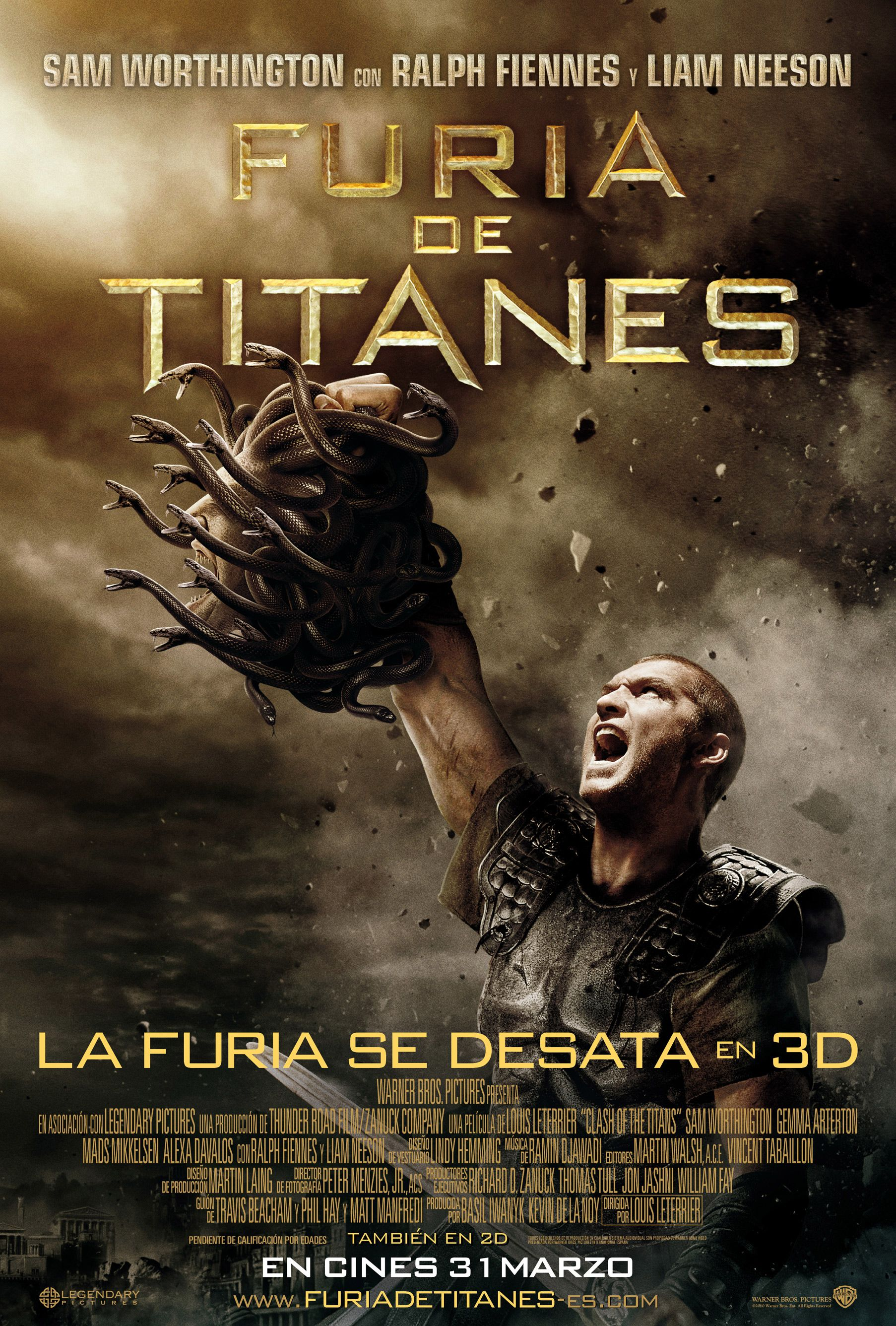 2010 04 14 Furia De Titanes Clash Of The Titans Action Movies Streaming Movies