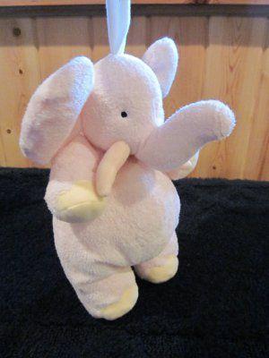 John Lennon S Quot Imagine Quot Pink Plush Elephant Musical Crib