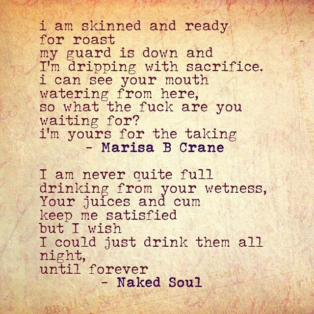 Pin on Naked soul