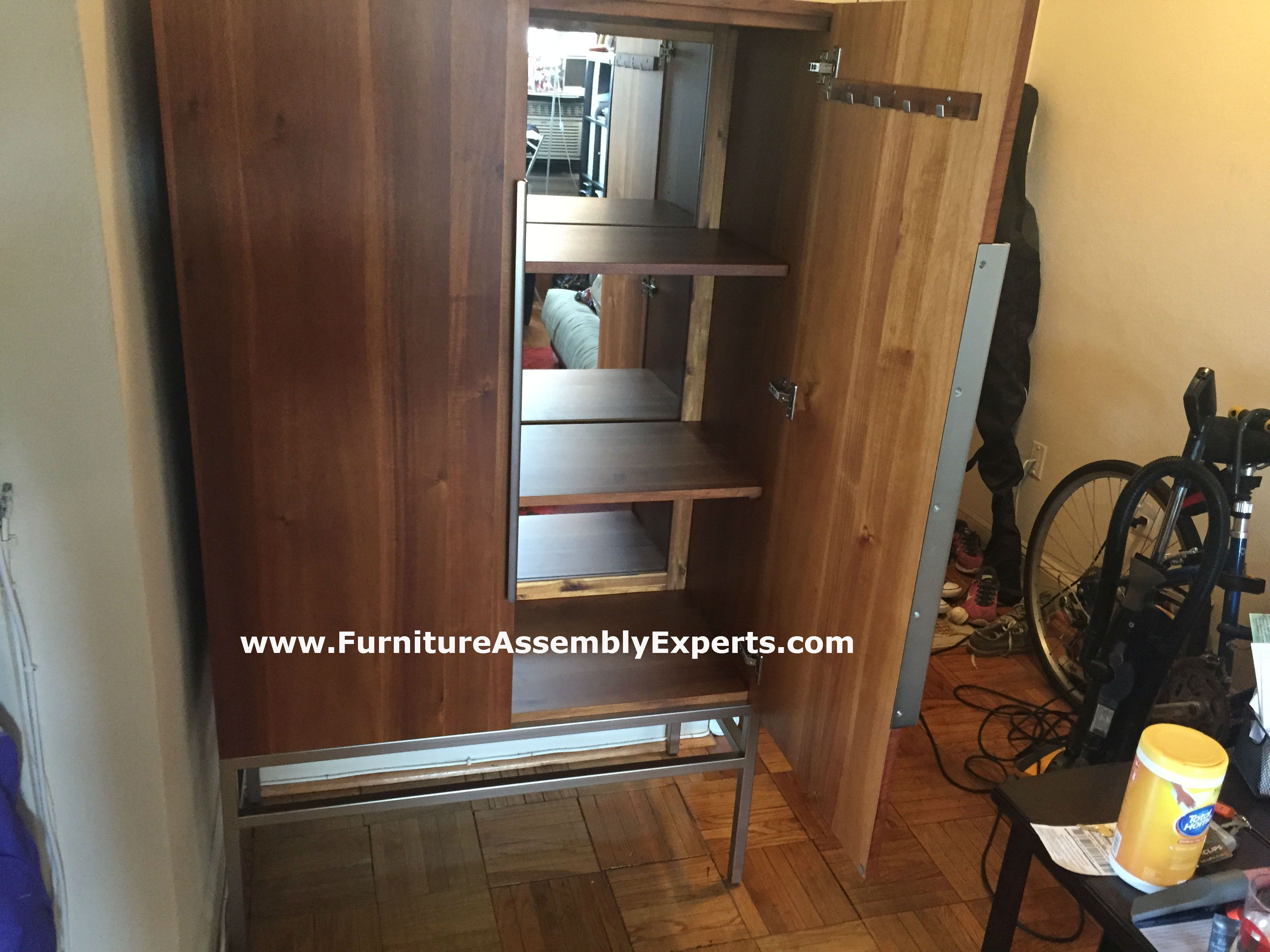 Muse Cabinet Assembled In Bethesda MD By Furniture Assembly Experts LLC