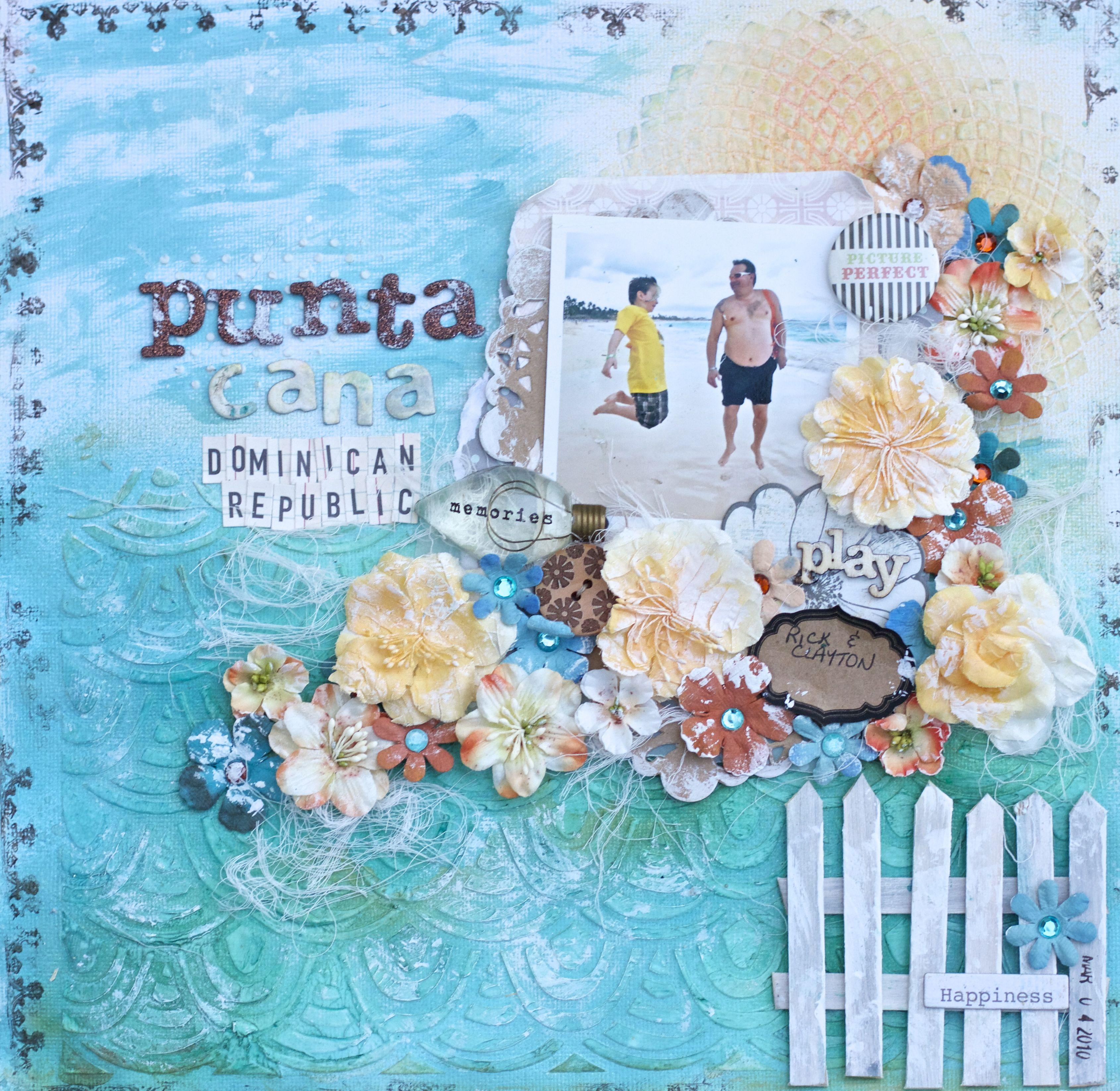 Scrapbook ideas niagara falls - Punta Cana Dominican Republic Scrapbook Com
