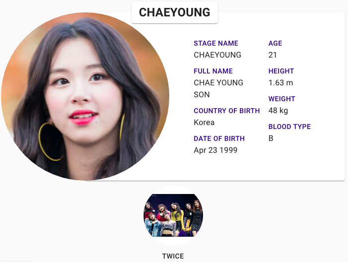 Chaeyoung Twice Profile Kpop Profiles Ideal Body Twice