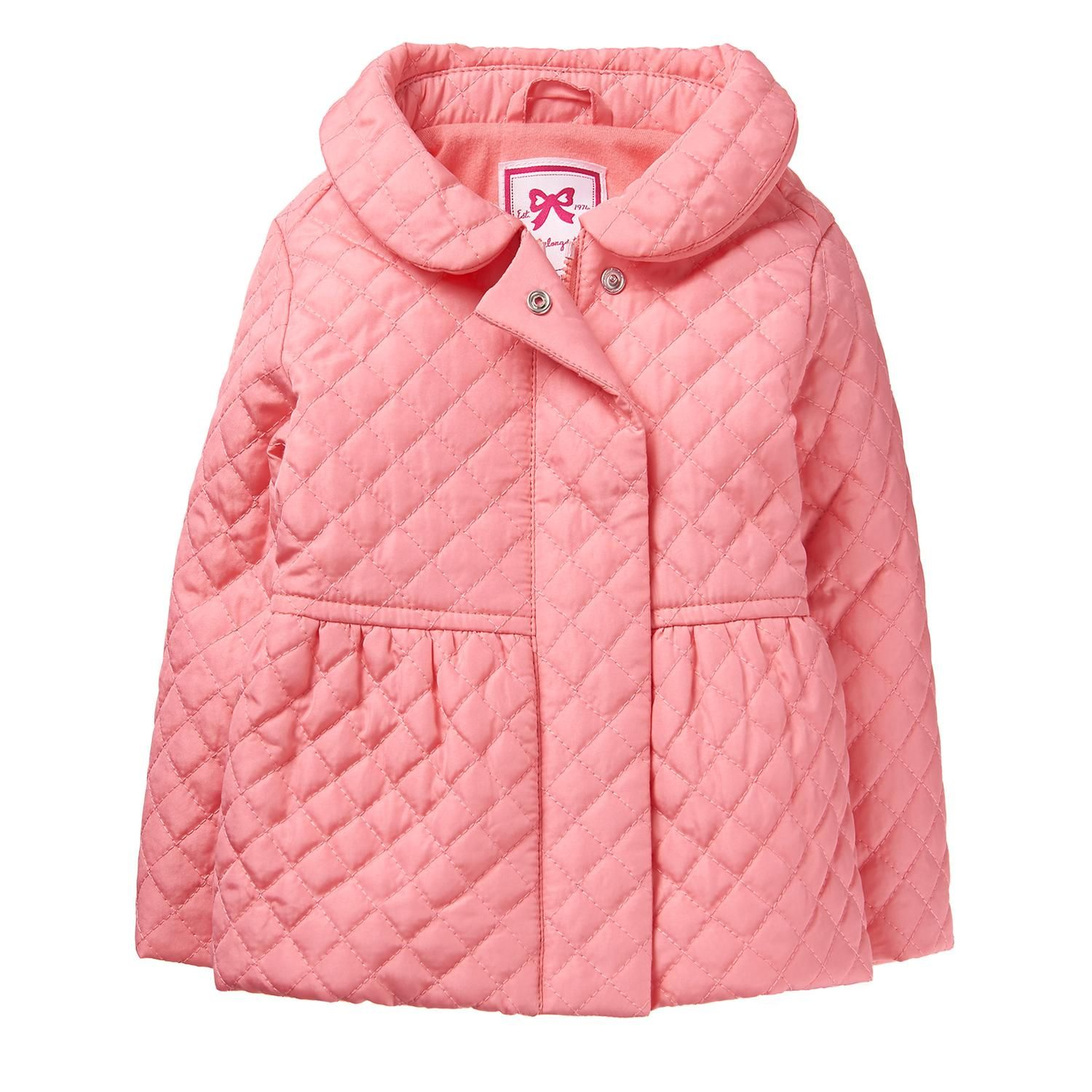 Toddler Girl Coral Quilted Jacket By Gymboree Toddler Jacket Quilted Jacket Jackets