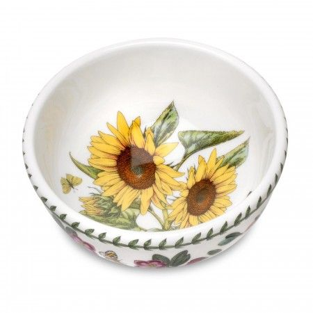 Sunflower Motif Portmeirion Botanic Garden Salad Bowl
