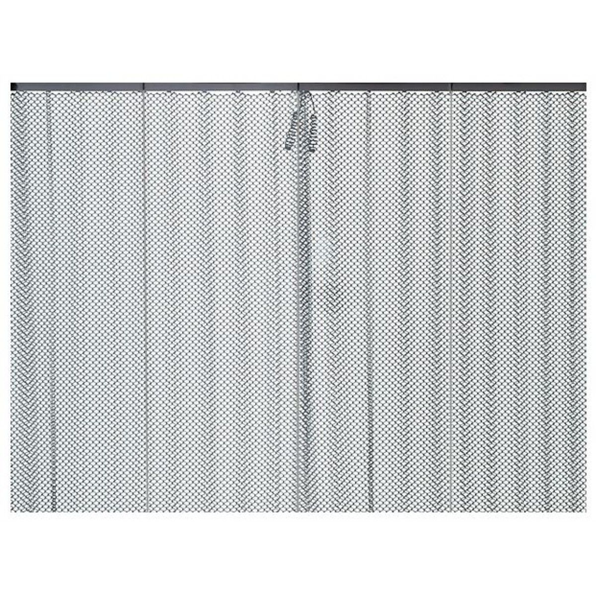 amazing chainmail curtain stainless steel fireplace screen  - fireplace mesh doors screens and curtainswhich choice is right for