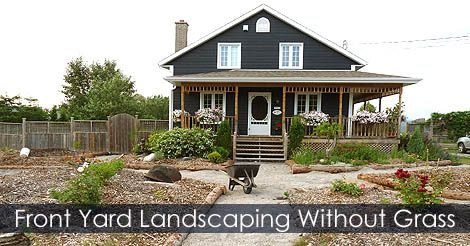 Front Yard Garden Landscaping Design Idea Front Yard without