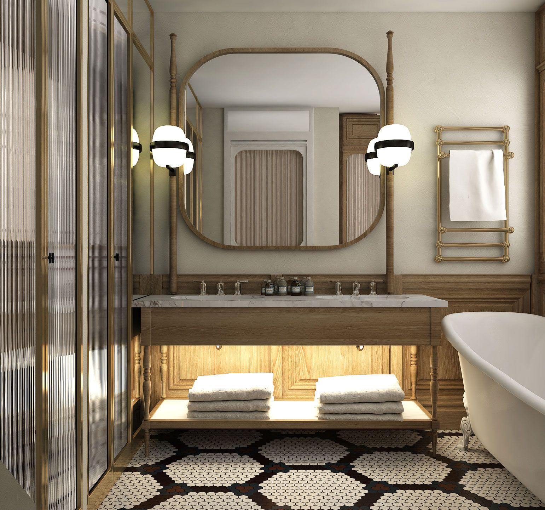 Bless Hotel Madrid Standart Room Madrid Hotels Hotel Bathroom Design