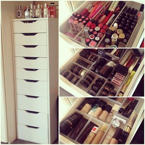 18 ideas incre bles para organizar tu maquillaje - Muebles para organizar ...