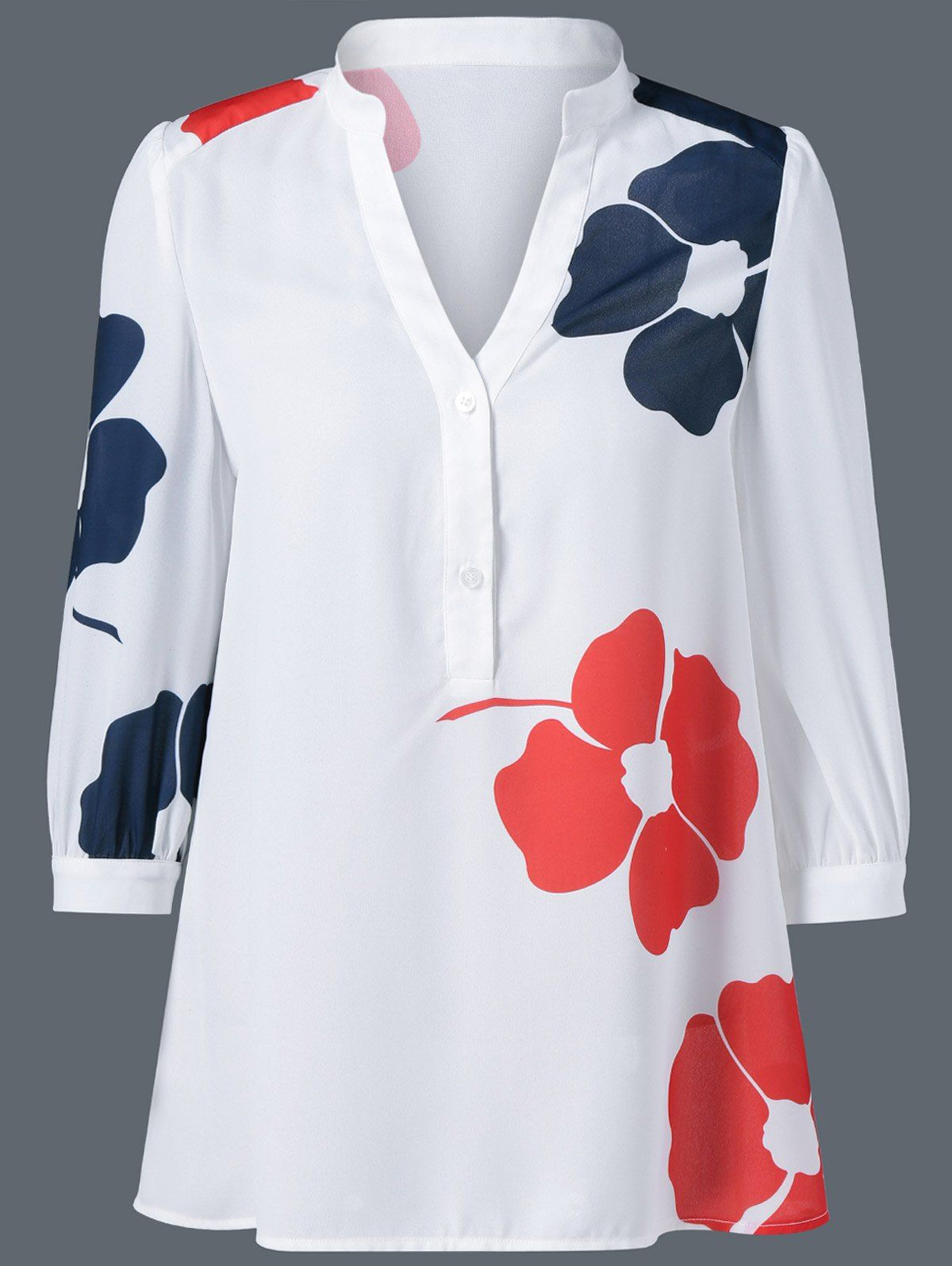 f326c7af2 Floral Chiffon Blouse | hechuras para mi | Blusas mujer, Blusas y ...