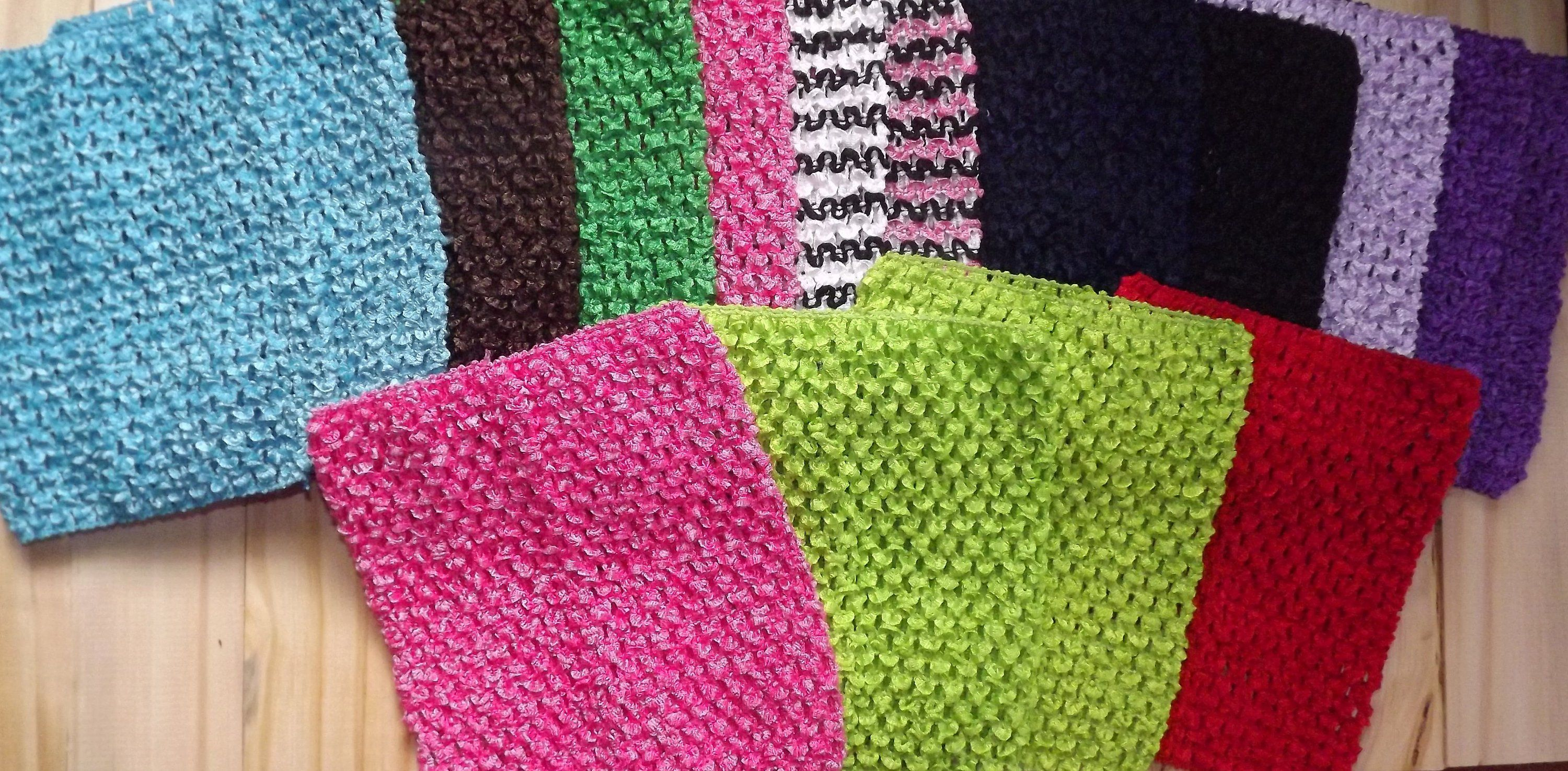 Close Out Sale Wholesale Lot Of 6 Inch And 15 Inch Crochet