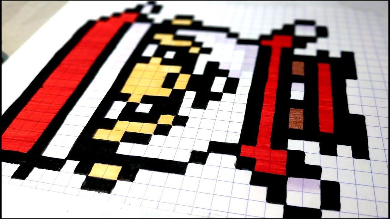 Comment Dessiner Un Pere Noel En Pixel Art Asmr