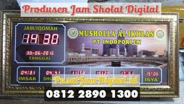 Jam Dinding Masjid Di Lampung Utara Wa 0813 2530 0071 Perakitan