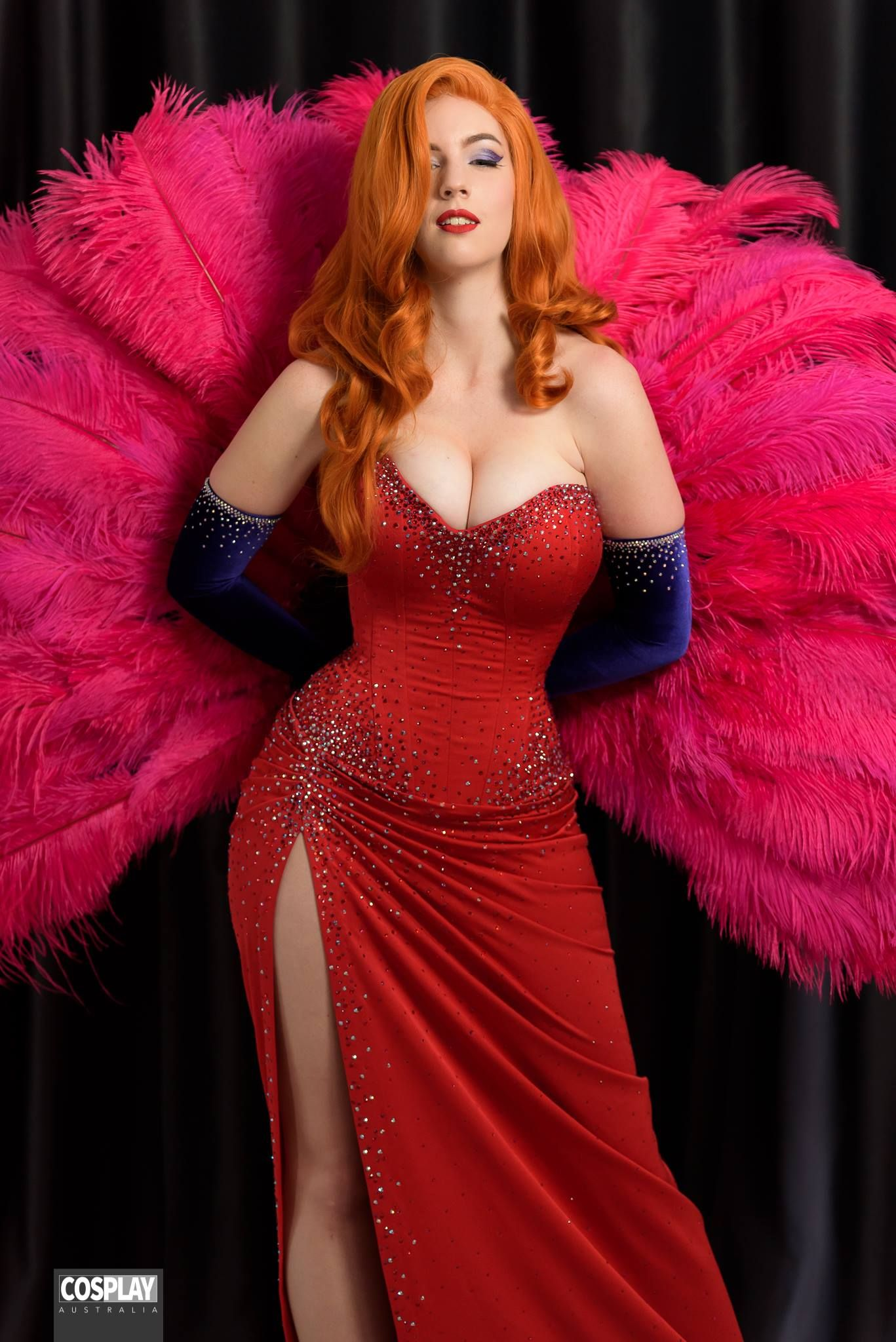 Jessica Rabbit cosplay by msmajorsam   Cosplay outfits