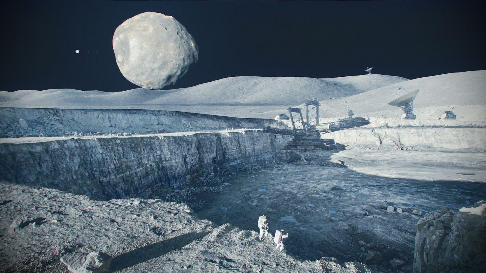 asteroid mining machinery - HD1600×900