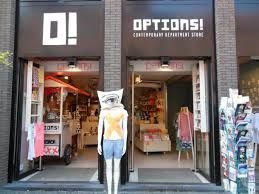 options amsterdam - Damrak, warenhuis