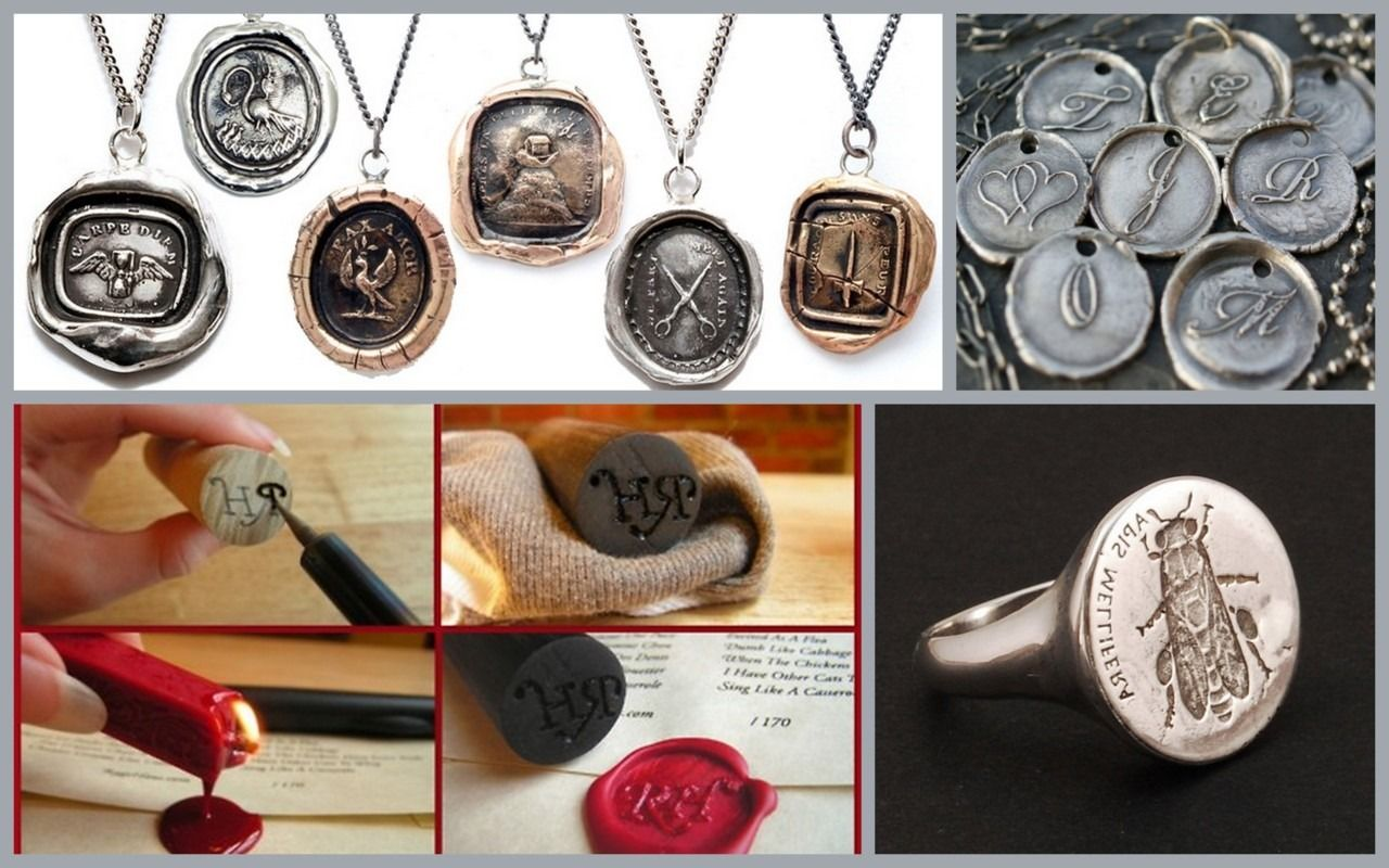 Edit Wax Seals Tutorial And Jewelry To Go A Long With My Ragehaus