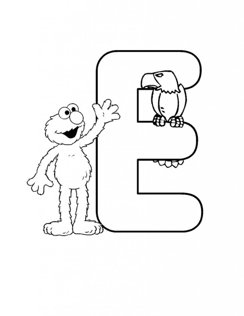 Free Printable Elmo Coloring Pages For Kids Elmo Coloring Pages Sesame Street Coloring Pages Alphabet Coloring Pages