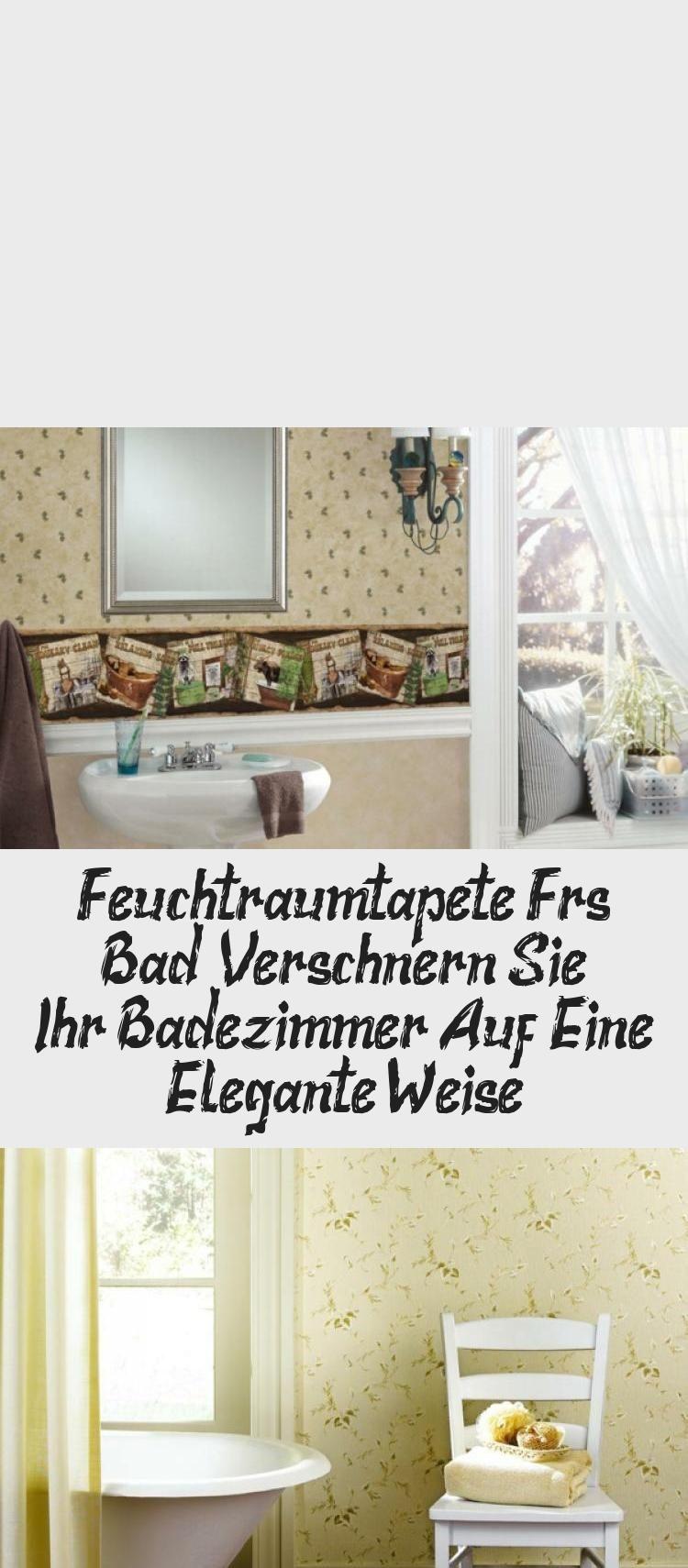 Feuchtraumtapete Furs Bad Verschonern Sie Ihr Badezimmer Auf Eine Elegante Weise Home Decor Decor Furniture