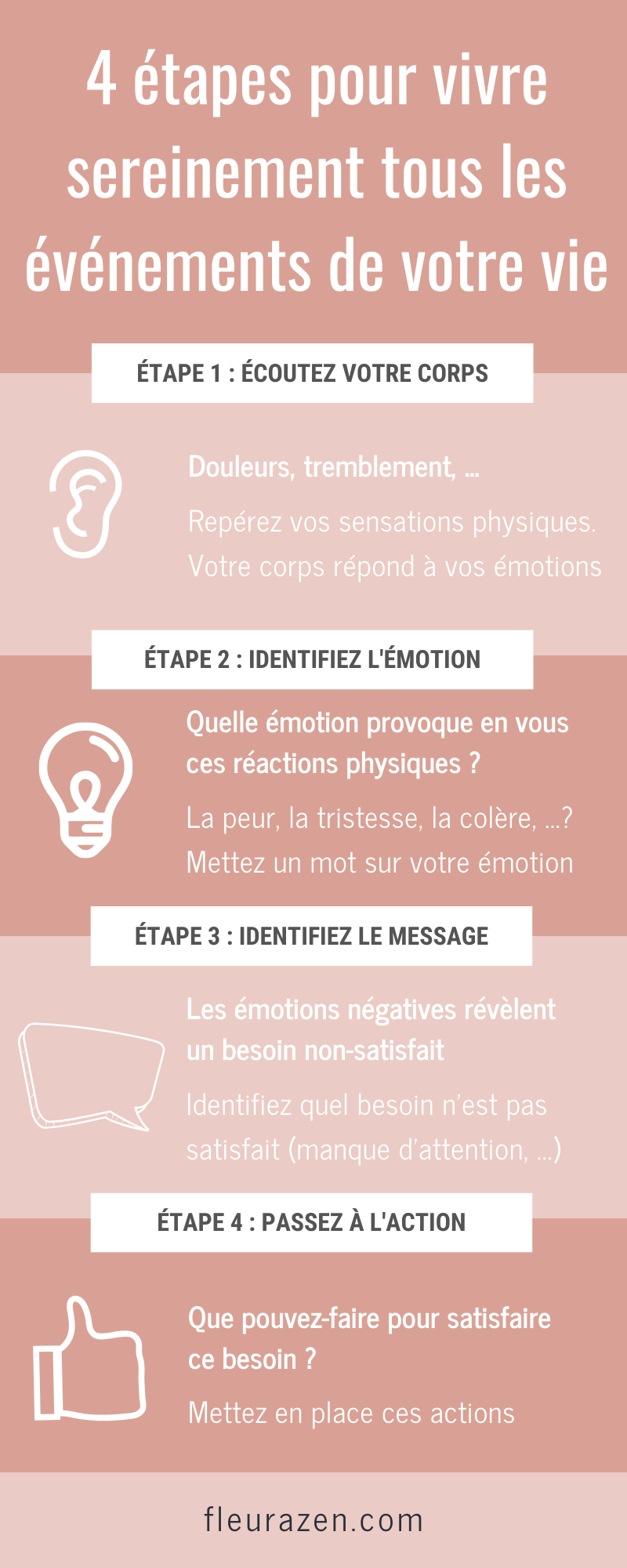 Comment Vivre Sereinement En 2020 Emotions Et Sentiments Emotions Gestion Des Emotions