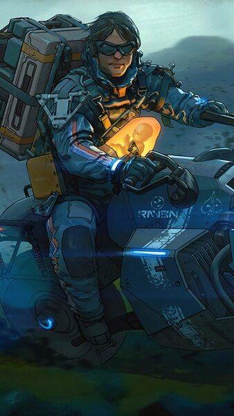 Death Stranding Motorcycle Days Gone 4k Hd Mobile Smartphone And Pc Desktop Laptop Wallpaper 3840x2160 1920x1080 2 Metal Gear Rising Death Dead Stranding