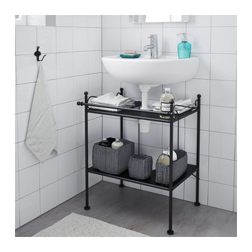Rönnskär Rak Meja Wastafel Ikea Furniture Bathroom Ikea Sink