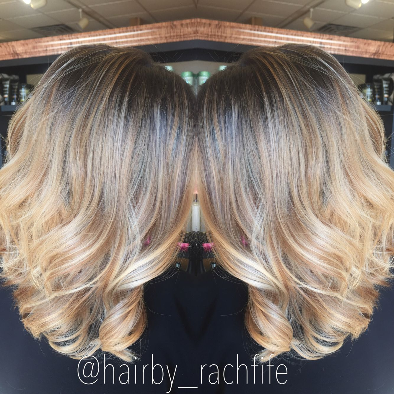 Stretched root balayage highlight Hair by Rachel Fife @ Sara ...