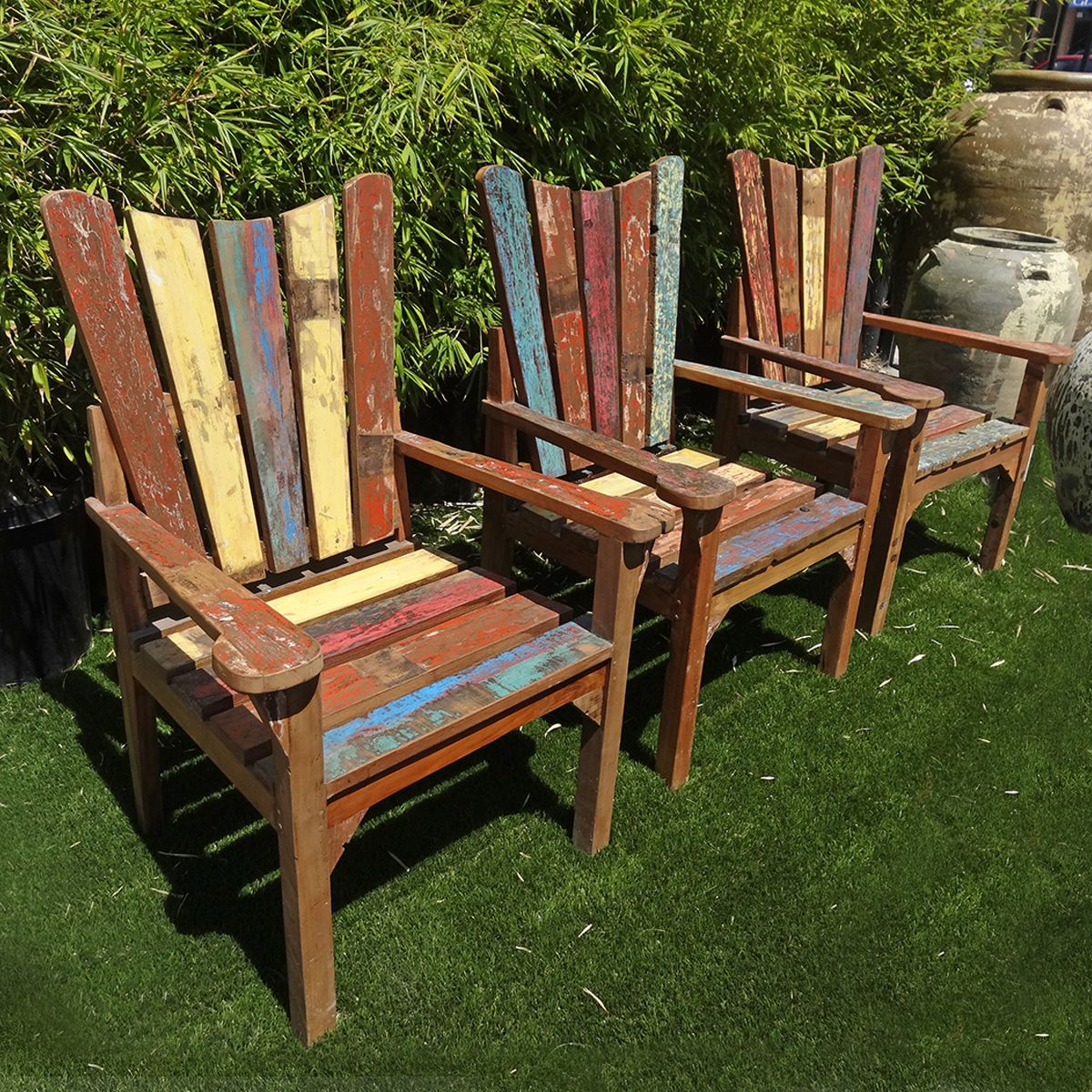 Shop our teak chairs at Mix Furniture! Reclaimed teak wood ...