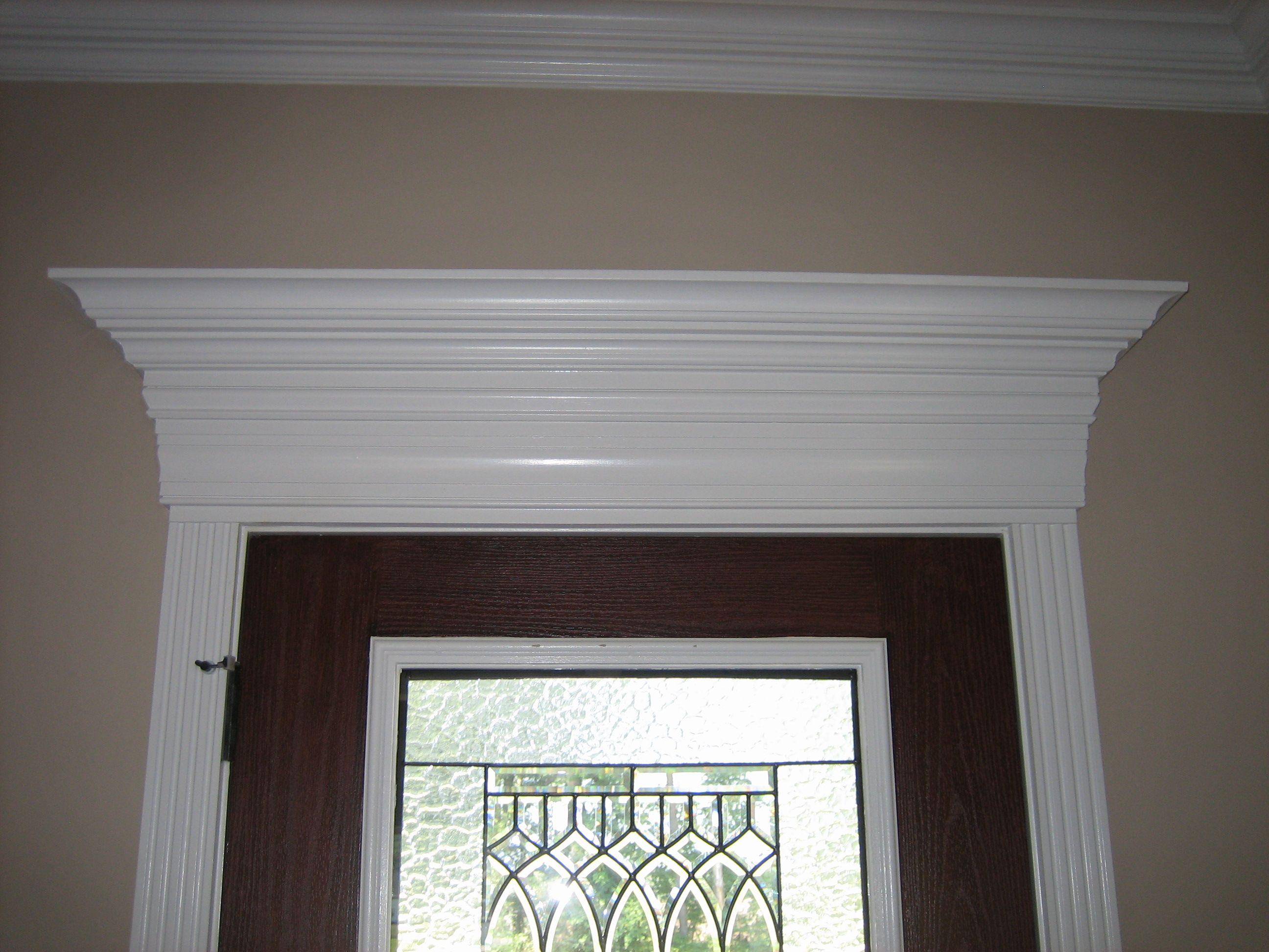 Good-looking Paneled Necking Crosshead Front Door Trim For Midcentury Beveled Glass Entry Half Doors & Good-looking Paneled Necking Crosshead Front Door Trim For ...