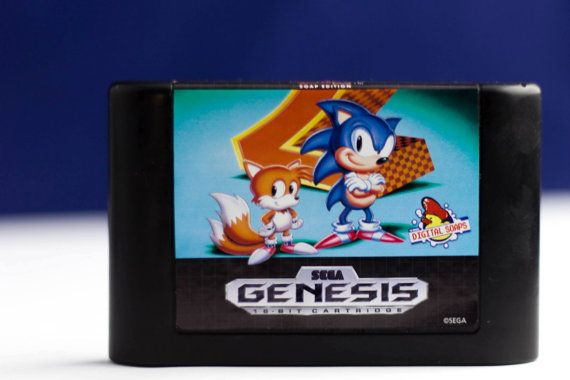 Sonic The Hedgehog 2 Soap Edition Officially Licensed By Sega Sonic The Hedgehog Sonic