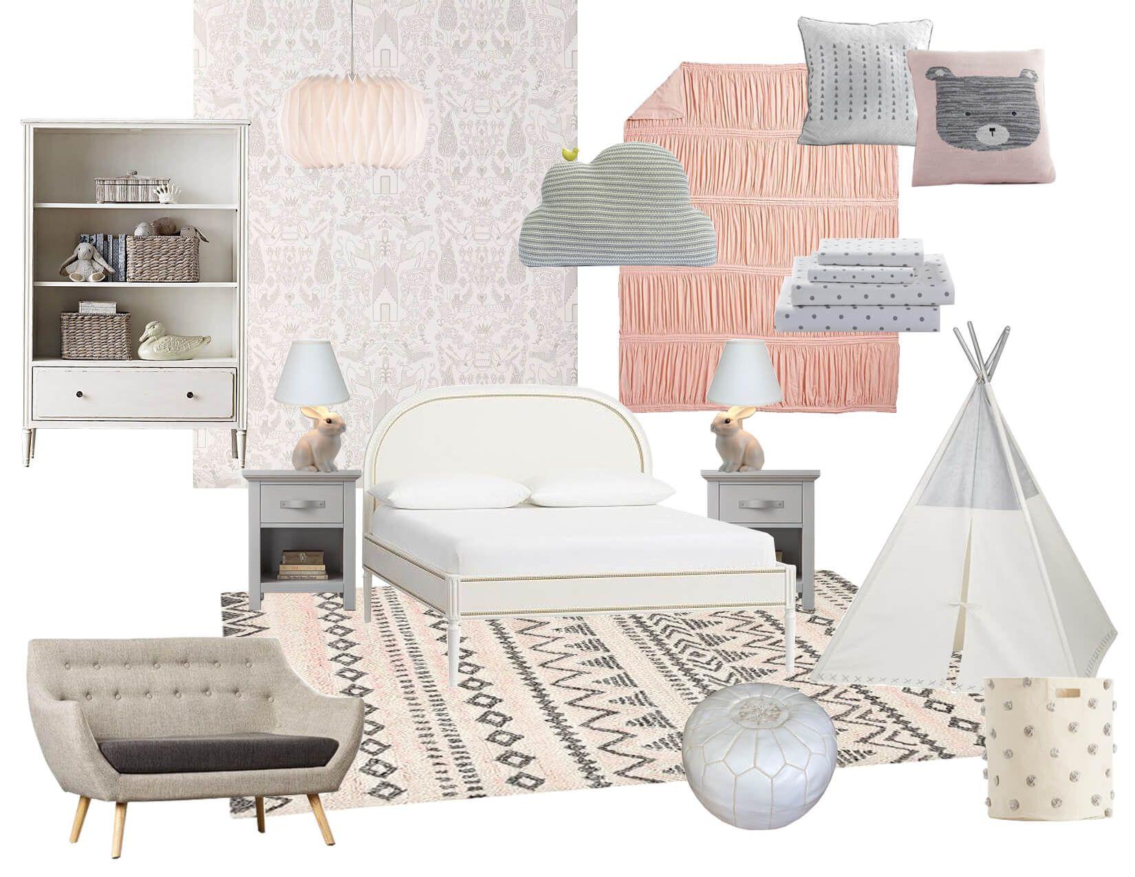Little Girl's Playful Room Introduction and Sneak Peek | Emily Henderson | Bloglovin'