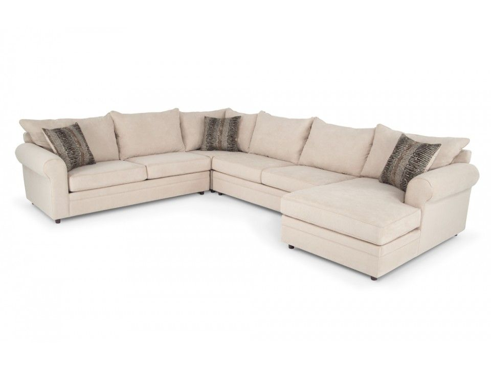 Venus II 4 Piece Left Arm Facing Sectional | Sectionals | Living ...